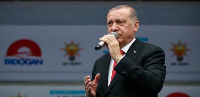 Erdoğan: Tutukludan aday olmaz