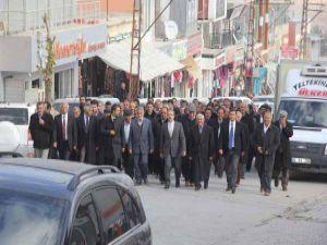 Yürüyerek CHP'den BDP'ye geçtiler!