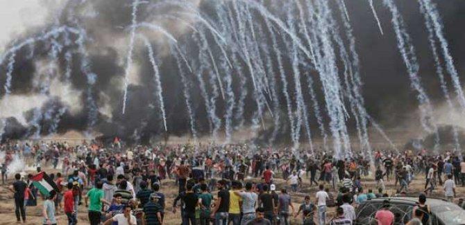 İşgal güçleri Hamas'a ait 9 hedefi vurdu!