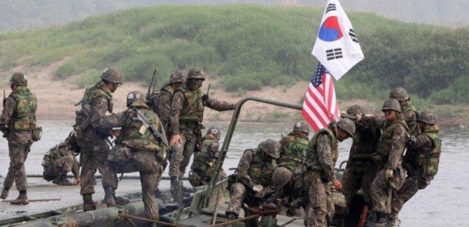 """ABD:Üç askeri tatbikatı """"süresiz"""" olarak askıya aldı"""