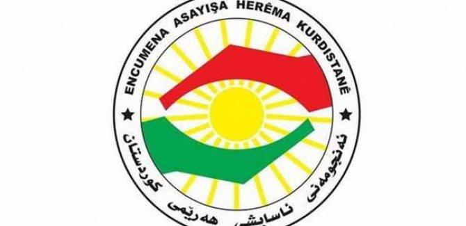 Kürdistan Bölgesi Asayişi: Caydırıcı önlemler alacağız!