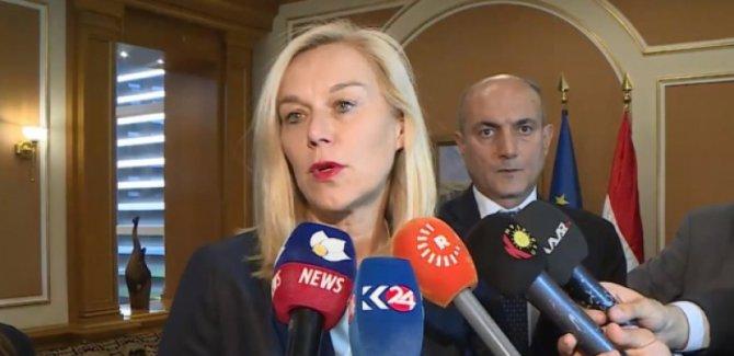 Hollanda'dan Bağdat ve Erbil'e 30 milyon Euro yardım