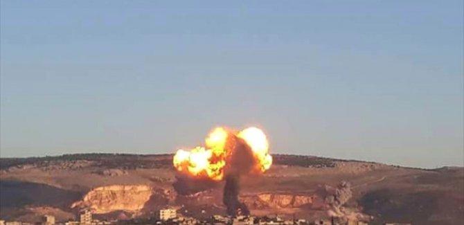 Afrin'de büyük patlamalar!