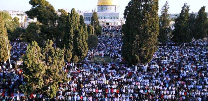 Kudüs'te Cuma hutbesi: Emperyalistler İslam ülkelerine karşı birleşirken bizler hâlâ birbirimizle çekişiyoruz!