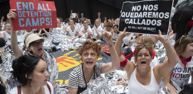 ABD'de Trump'a karşı kitle protestolar