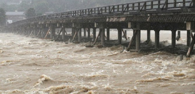 Japonya'da sel felaketi:15 ölü