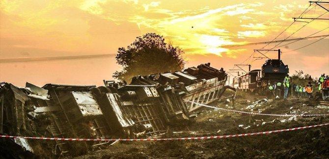 Tren kazasında vefat sayısı 24'e yükseldi