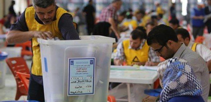 Erbil'de oylar elle sayılmaya başlandı