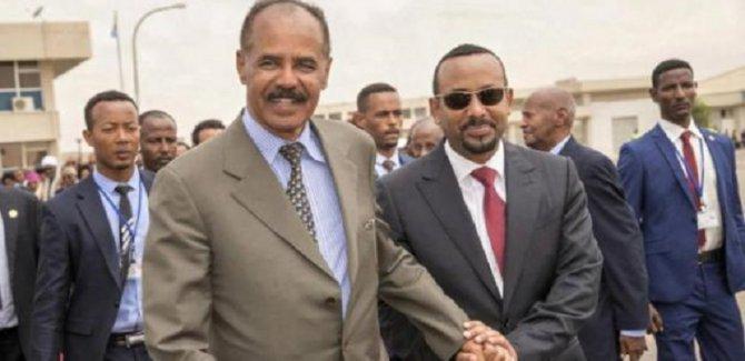 Etiyopya ile Eritre 20 yıllık çatışmalardan sonra ilk ziyaret