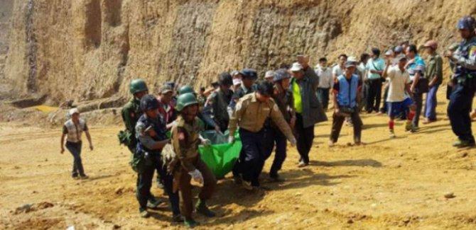 Myanmar'da yeşim taşı madeninde heyalan:15 ölü
