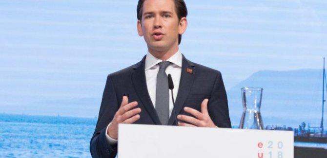 Kurz: AB, Türkiye ile müzakereleri vakit geçirmeksizin sonlandırmalı