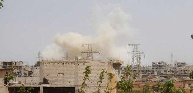Halep'te şiddetli patlamalar
