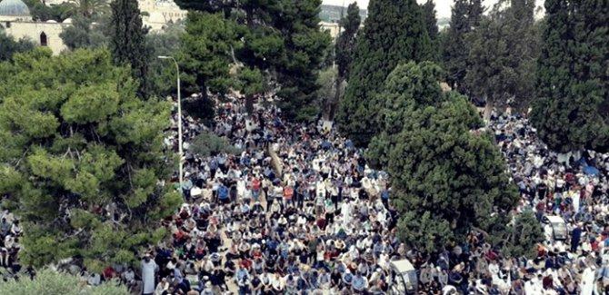 ''Filistin halkı Yüzyılın Anlaşması'na izin vermeyecek!''