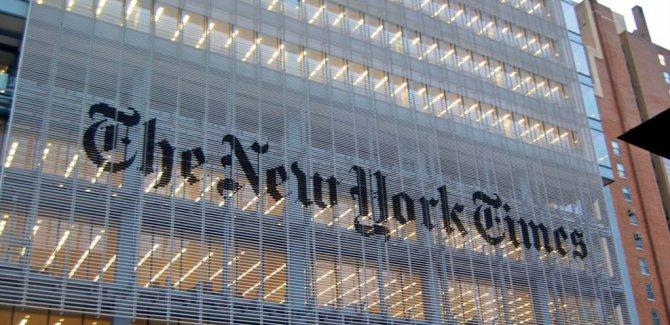 New York Times'tan Trump'a 'Dil' Uyarısı