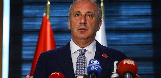 İnce'den Erdoğan'a: Lütfen çağrımın gereklerini yerine getirin