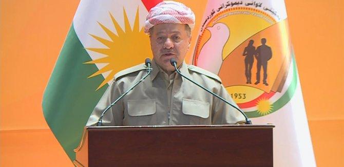 Barzani'den mesaj