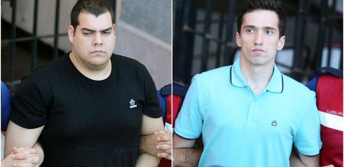 Tutuklu 2 Yunan askeri serbest bırakıldı