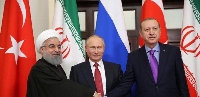 Erdoğan, Ruhani ve Putin bir araya gelecek