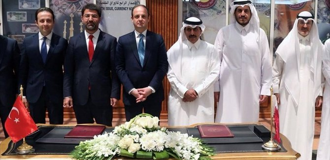 Türkiye ve Katar merkez bankaları, 'Para takası' anlaşmasına imza attı