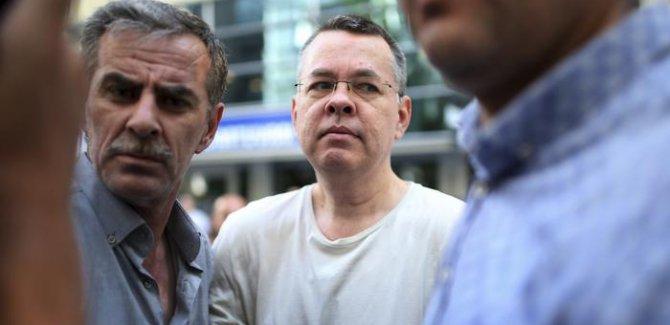 Bolton: Brunson serbest bırakılırsa kriz sona erer