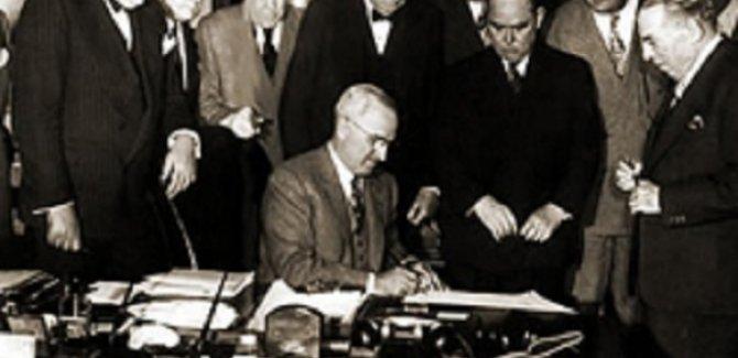 ABD'nin Türkiye'ye etkisi ve Marshall planı