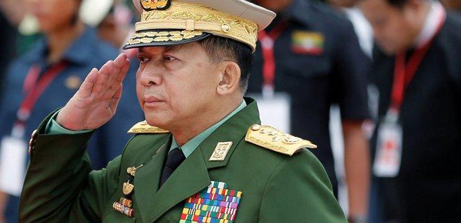 Facebook'tan Myanmar Genelkurmay Başkanı'na yasak