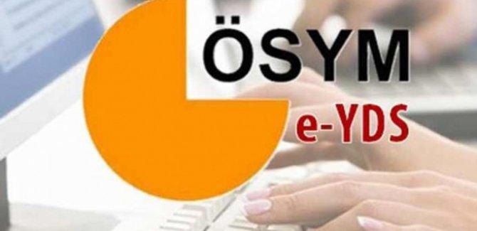 YDS giriş belgeleri erişime açıldı