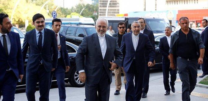 İran Dışişleri Bakanı Zarif, AK Parti binasında