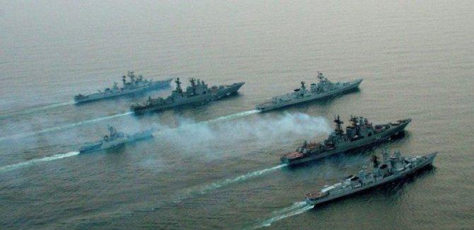 Rusya, Akdeniz'e iniyor: 25 gemi ve 30 uçak ile tatbikat yapacak