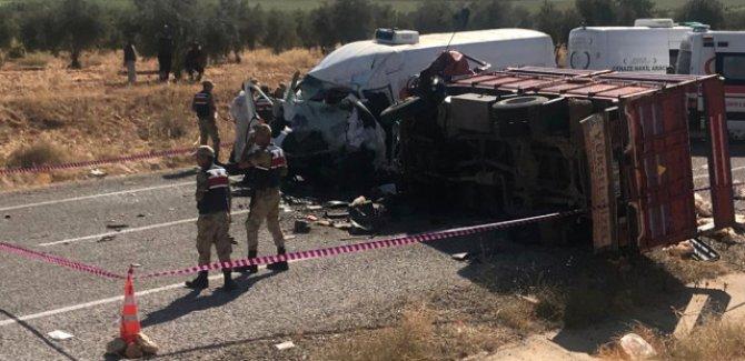 Antep'te feci kaza:7 kişi öldü, 19 kişi yaralandı