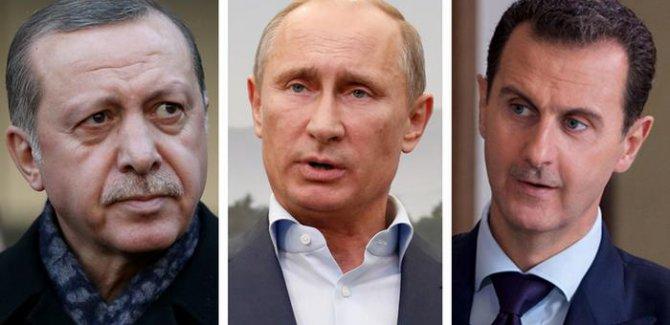 """""""Rusya Türkiye'yi Esad ile müzakereye zorluyor"""""""
