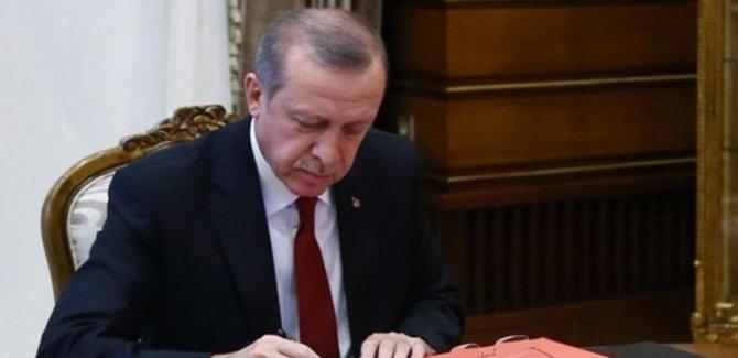 Erdoğan'dan 15 üniversiteye rektör ataması