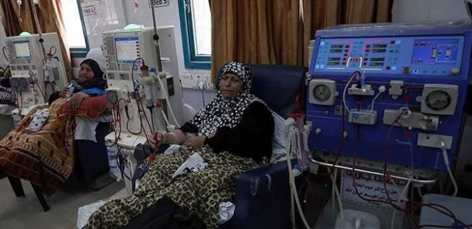 Filistin Sağlık bakanlığı: Gazze'deki hastaneler kapatılabilir