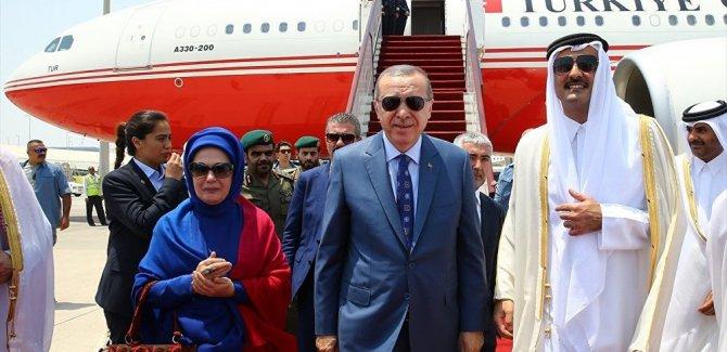 Katar Emiri Erdoğan'a Özel uçak hediye etti
