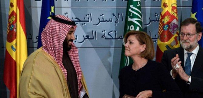 İspanya Suudi Arabistan'a 400 lazer güdümlü bomba gönderecek