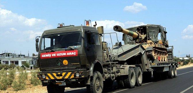 Suriye sınırına askeri sevkiyat artıyor