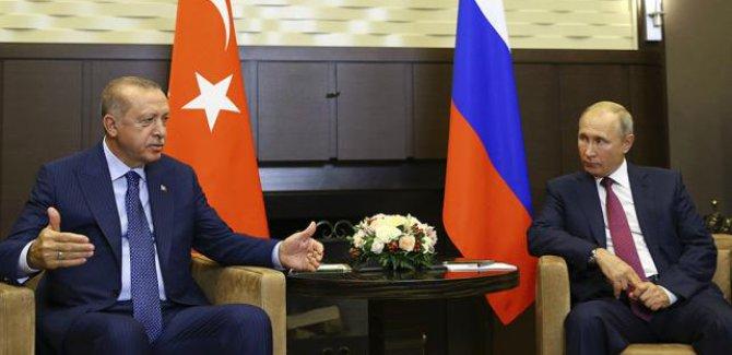 Erdoğan ve Putin, Soçi'de İdlib'i görüştü