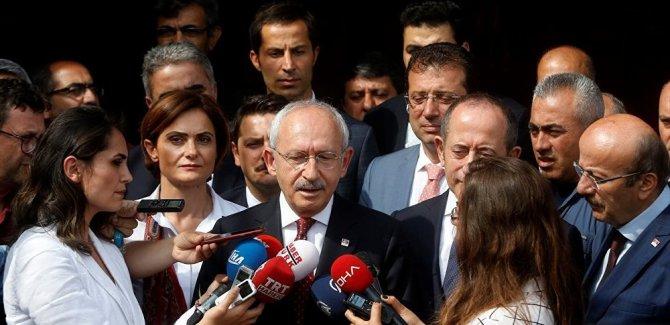 Kılıçdaroğlu: Bize kızmakta haklılar, iyi bir sınav vermedik
