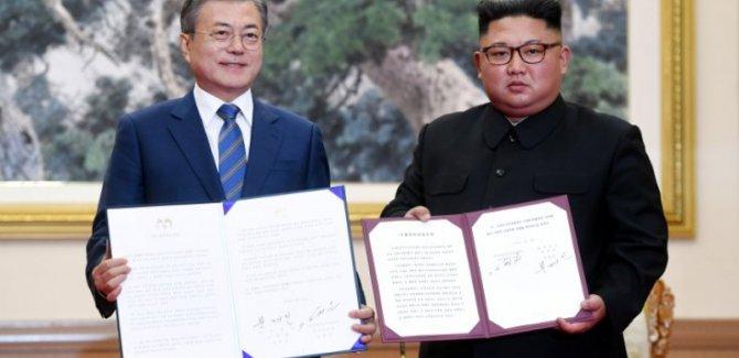 Kuzey Kore'den nükleer silahsızlanma sözü