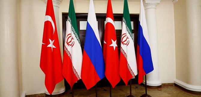 Türkiye, Rusya ve İran, ABD'de Suriye gündemiyle toplanıyor