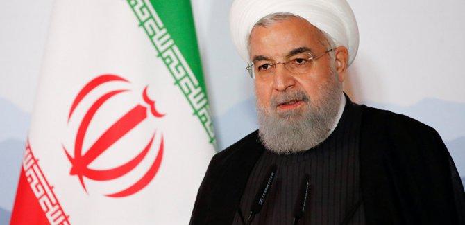 Ruhani: Trump ile görüşmenin hiçbir faydası yok