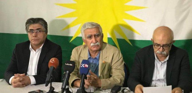Kürt partilerden referandumun yıldönünde ortak açıklama