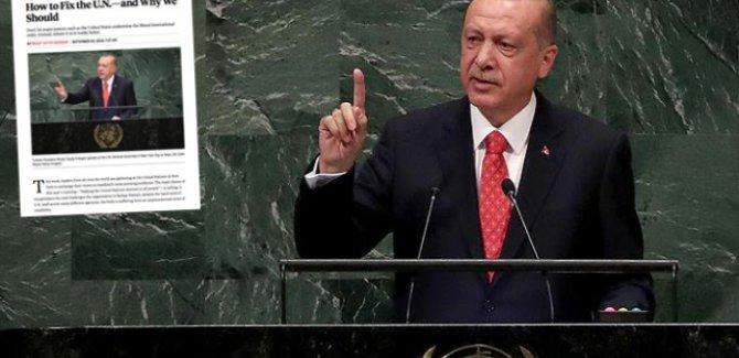 Erdoğan: BM kapsamlı bir reform sürecini başlatmalıdır