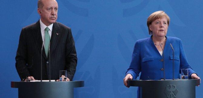 Erdoğan-Merkel görüşmesi sonrası ilk açıklamalar