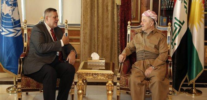 BM'den Barzani'ye kutlama