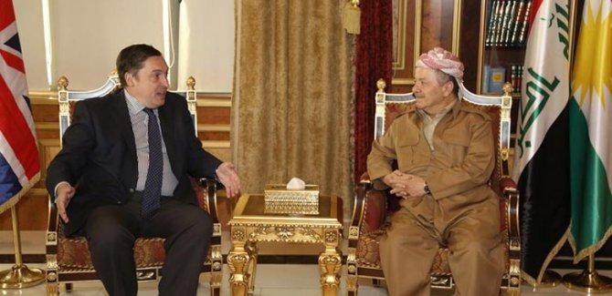 İngiliz Büyükelçi: Umarım Kürdistan'ı güçlendirir