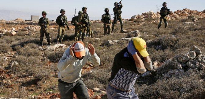 Filistinli çocuk  vahşice öldürüldü