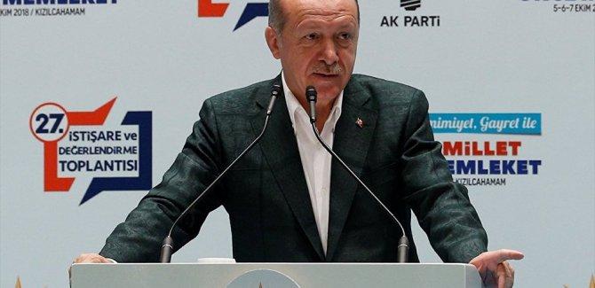 Erdoğan: Türkiye'de kriz yok, ekonomiyle ilgili manipülasyon var