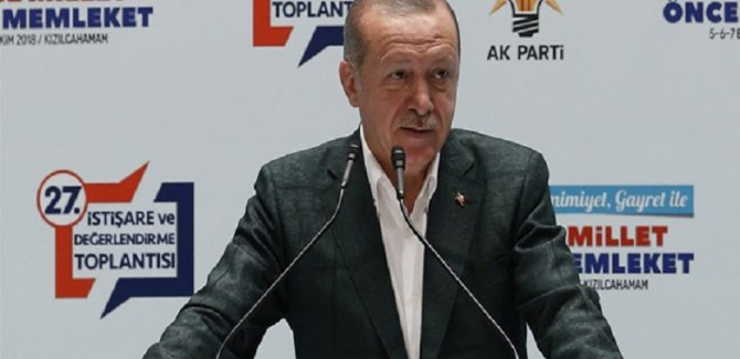 Erdoğan: HDP'yi Meşru Görmemiz Mümkün Değil
