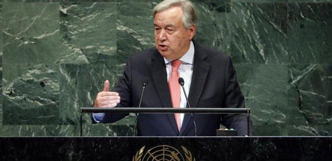Guterres'ten Kaşıkçı Açıklaması